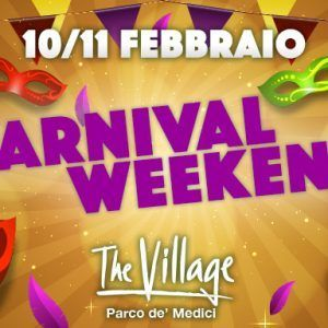Carnevale al The Village Roma!