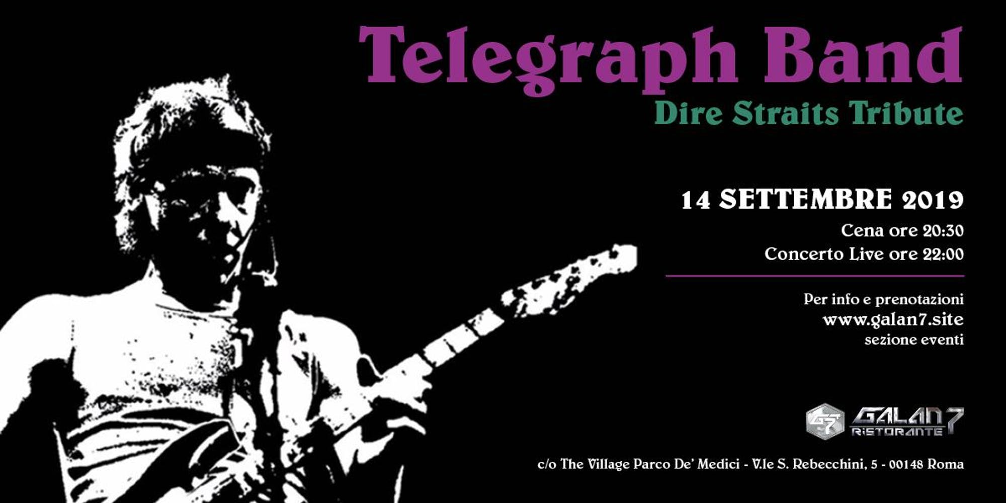 DIRE STRAITS TRIBUTE -TELEGRAPH BAND