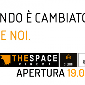 Apertura cinema The Space